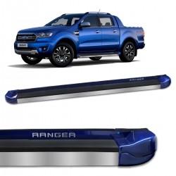 Estribo Lateral Ranger 2017 a 2021 Azul Aurora Stribus