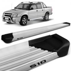 Estribo Lateral S10 CD 1995 a 2011 Aluminio Natural A3