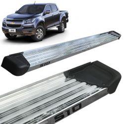 Estribo Lateral S10 CD 2012 a 2020  Aluminio Polido A3