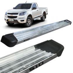 Estribo Lateral S10 CS 2012 a 2020 Aluminio Polido A3