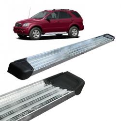 Estribo Lateral Sorento 2004 a 2010 Alumínio Polido A3