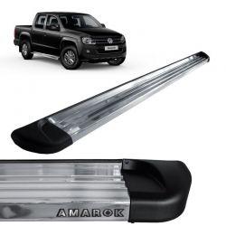 Estribo Lateral Amarok 2010 a 2018 Aluminio Polido Track