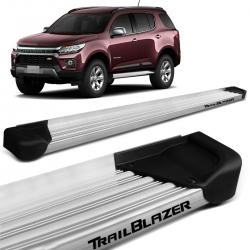 Estribo Lateral Trailblazer 2013 a 2021 Alumínio Natural A3