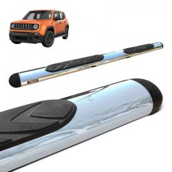 Estribo Oval Jeep Renegade 2015 a 2020 Cromado Original Bepo