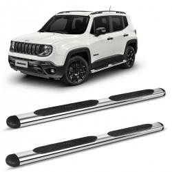 Estribo Oval Jeep Renegade 2015 a 2021 Cromado Original Bepo
