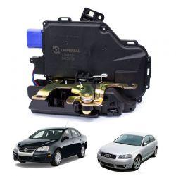 Fechadura Elétrica De Porta Jetta E Audi A3 Traseira Esquerda