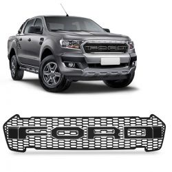 Grade Frontal Raptor Ford Ranger 2017 a 2020 Borda Prata
