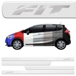 Jogo Friso Lateral New Fit 2009/2015 Resinado Incolor
