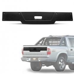Moldura Aplique Tampa Traseira S10 2001 a 2011 Protetor Metal Plast