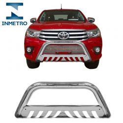 Parachoque de Impulsão Toyota Hilux 2016 Cromado