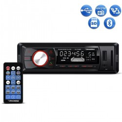 Radio Automotivo Roadstar RS2709BR Mp3 Player Bluetooth USB SD Aux AM FM 4x50w