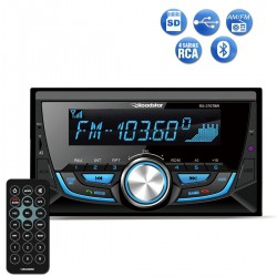 Radio Automotivo Roadstar RS3707BR Mp3 Player Bluetooth Double Din SD USB FM 4x50w