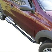Estribo Lateral Fiat Strada 1996 a 2020 Tubolar Com Chapa