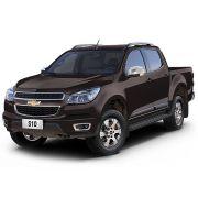 Aplique Retrovisor Chevrolet S10 2012 a 2016 Cromado Lado Esquerdo