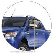 Calha de Chuva Ranger 2013 a 2021 CD Defletor Fumê Tgpoli