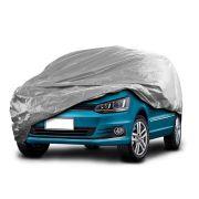 Capa Protetora Para Carro Grande Gofrada Forrada Impermeável