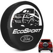 Capa de Estepe Ecosport 2003 a 2019 PVC Com Cadeado