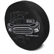 Capa de Estepe Nova Ecosport 2013 a 2019 Com Cadeado PVC