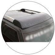 Defletor Aplique De Teto S10 2006 a 2011 Para Longarina Teto
