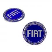 Emblema Adesivo Roda Esport Calota Resinado 48mm Fiat Mod 01