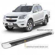 Estribo Lateral S10 CD 2012 a 2021 Branco Personalizado CK