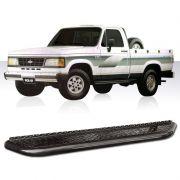 Estribo Lateral D20 A20 C20 1985 a 1996 Preto Chapa Aluminio