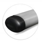 Estribo Lateral Oval Fiat Strada 2021 2022 2023 Aço Carbono Onix Grafite