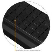 Estribo Lateral S10 2012 a 2021 Cabine Simples Oblongo Oval Preto