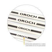 Jogo de Soleira Resinada Renault Duster Oroch 2016 Branco