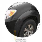 Kit Alargador de Paralamas Diant/Tras Hilux CD 2005 2011