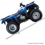 Rampa Para Quadriciclo Em Aço Carbono Cinza Universal 400kg
