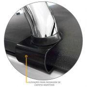 Santo Antonio Duplo S10 2012 a 2020 Cromado Sem Grade Vigia