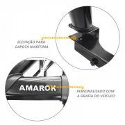 Santo Antonio Duplo Amarok 2010 a 2021 Preto Com Barra