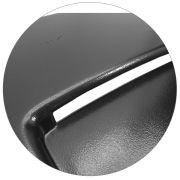 Scoop Entrada Ar S10 Blazer 1995 a 2011 Aplique de Capo Preto