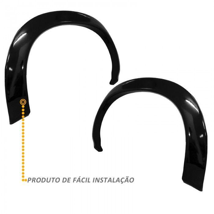 Alargador de Paralama S10 CD 2001 a 2011 Traseiro 02 Peças