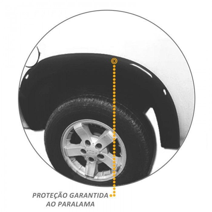 Alargador de Paralama S10 Cs 2001 a 2011 Traseiro 02 Peças