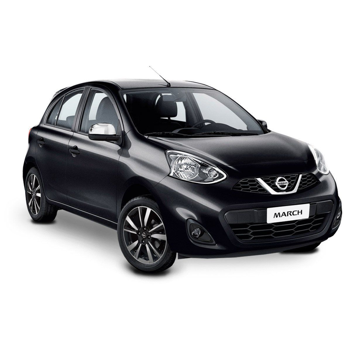 Aplique Retrovisor Nissan March 2011 a 2019 Cromado Lado Direito