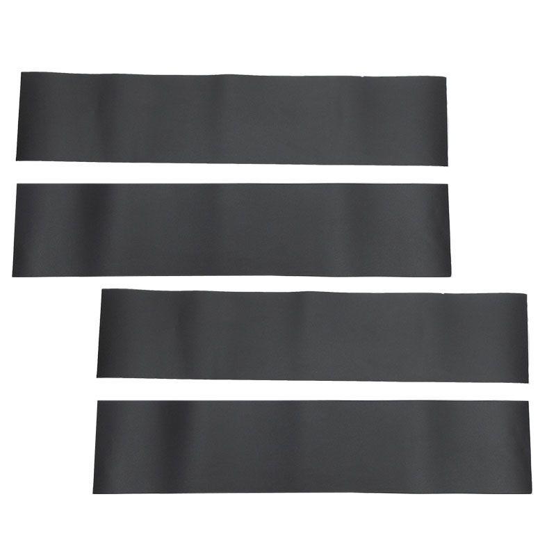 Adesivo Blackout para Coluna Porta Preto Fosco Universal