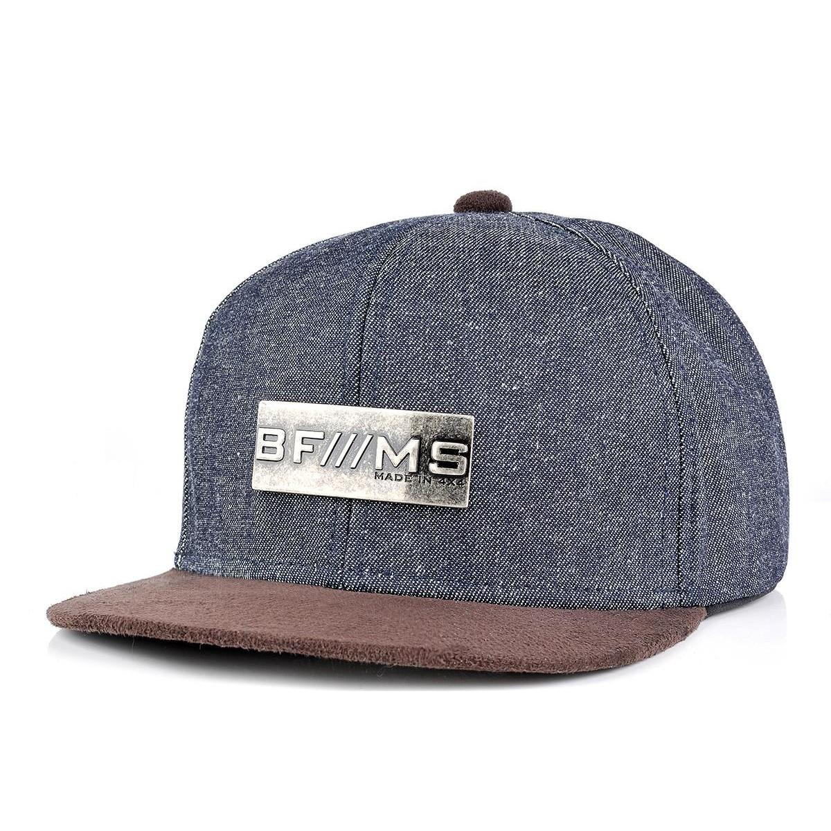 Boné BFMS Original Snapback Jeans Unissex Ajustável