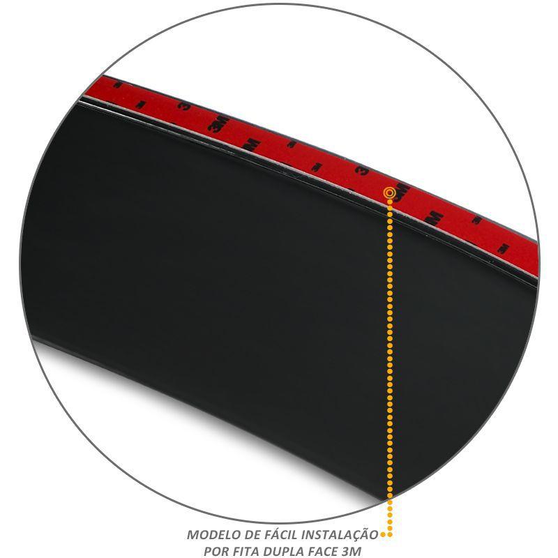 Calha de Chuva S10 1996 a 2011 4 Portas Defletor Fumê Tgpoli