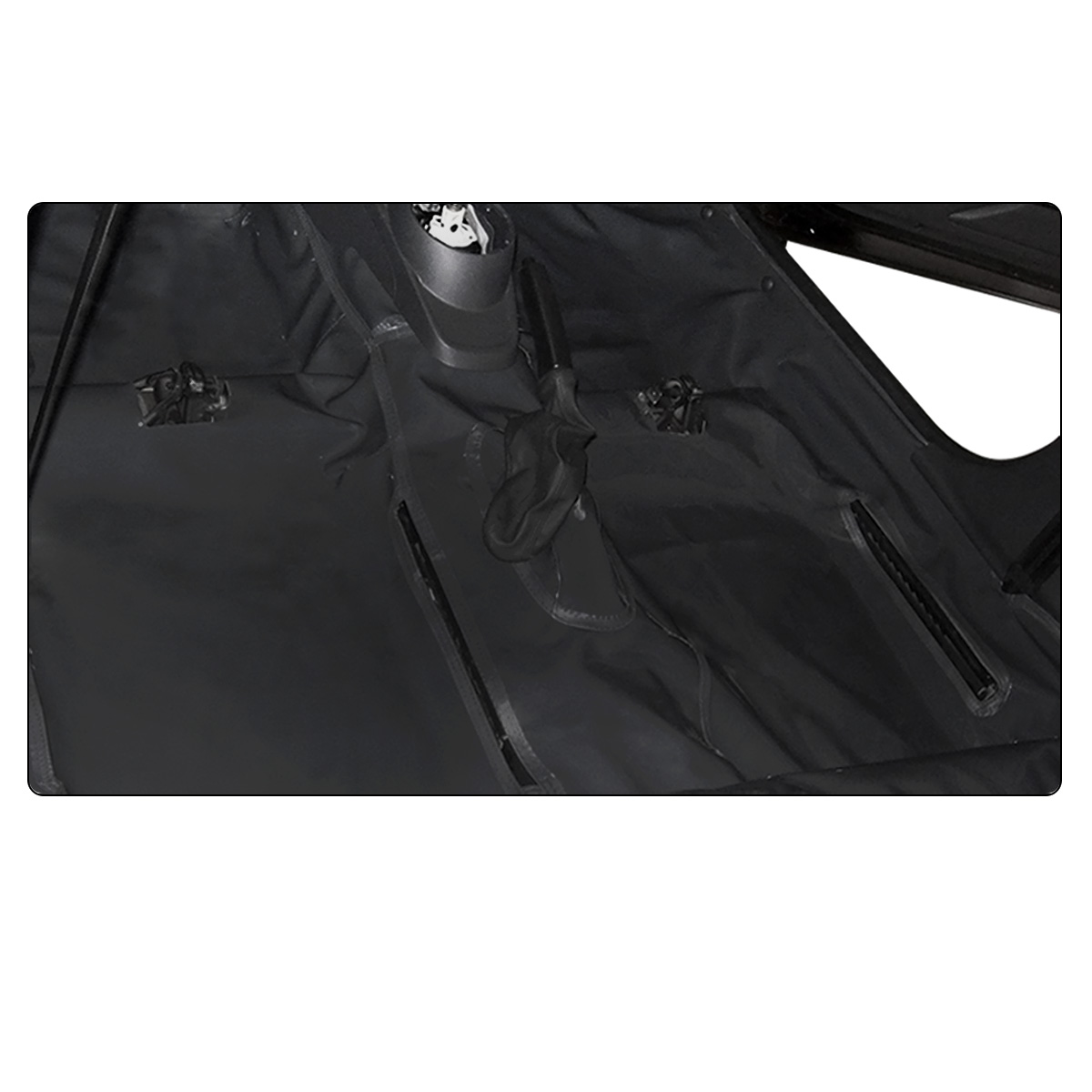 Capa Assoalho Ford Ranger CD 2012 a 2021 Vinil Grafite