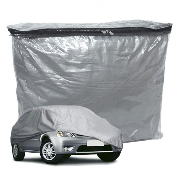 Capa Cobrir Carro Lisa com Forro Impermeável Tamanho Medio