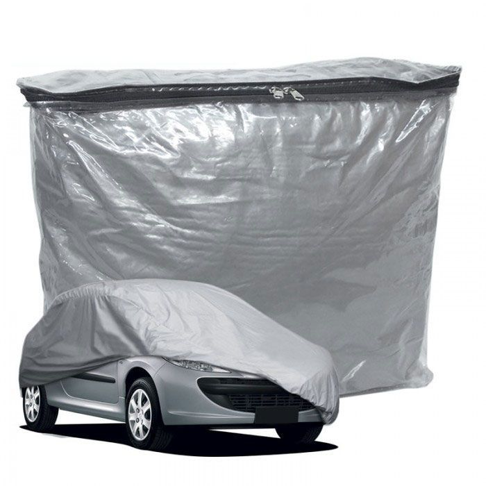Capa Cobrir Carro Lisa com Forro Impermeável Tamanho Pequena