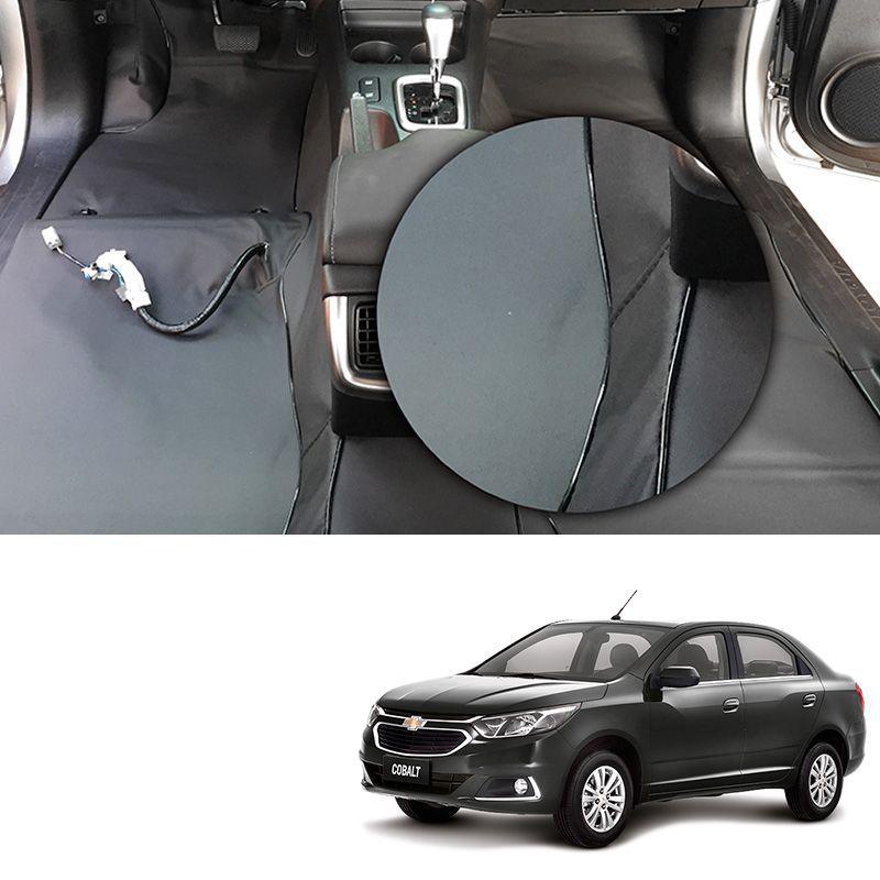 Capa de Assoalho em Vinil Chevrolet Cobalt 2012 a 2019 Grafite