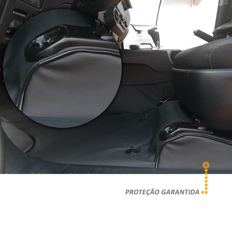 Capa de Assoalho em Vinil Preto L200 Triton GLX 2012 a 2017