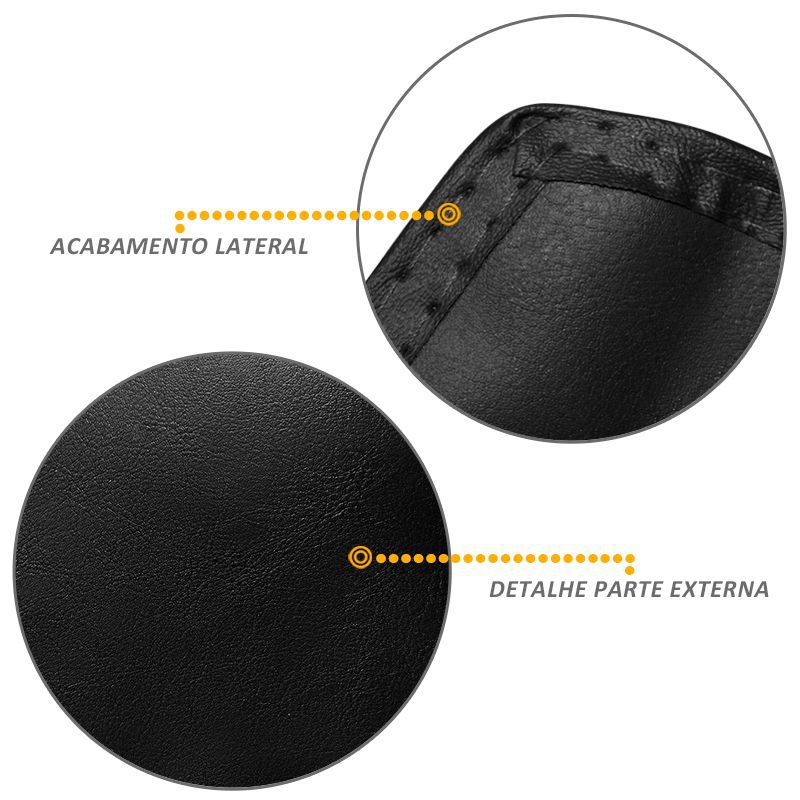 Capa Proteção Assoalho City 2014/2015 Vinil Preto