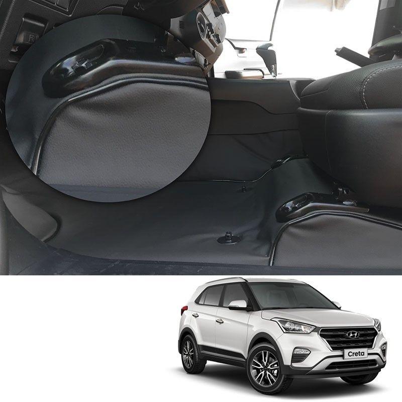 Capa de Assoalho Hyundai Creta 2017 Em Vinil Preto