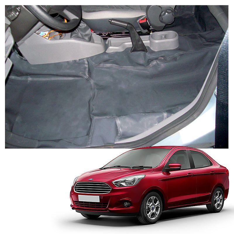 Capa de Assoalho Novo Ford Ka 2014 a 2019 Vinil Grafite