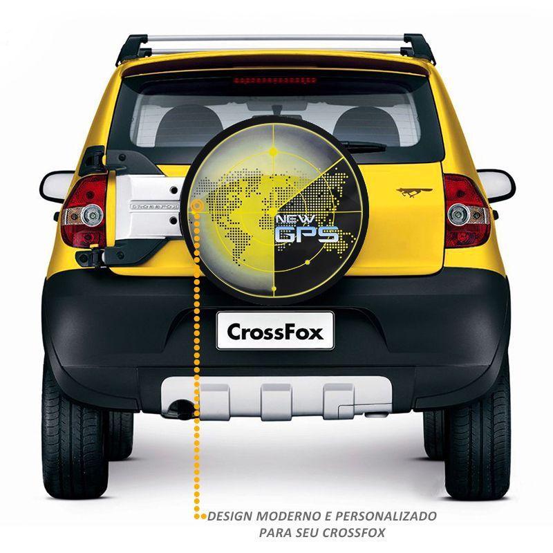 Capa de Estepe Crossfox 2005 a 2017 Personalizada New GPS