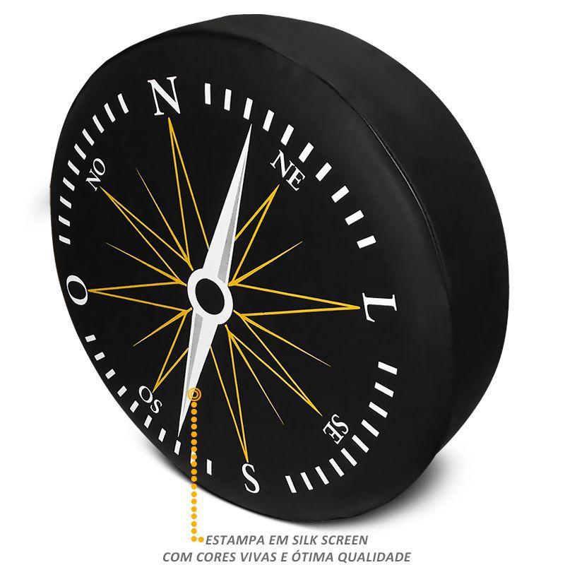 Capa de Estepe Crossfox 2005 a 2018 PVC Com Cadeado Bussola